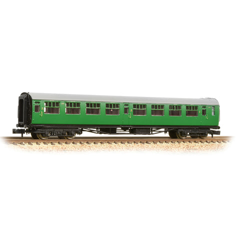Graham Farish 374-442 N Gauge SR Bulleid 3rd Corridor Coach BR Malachite Green