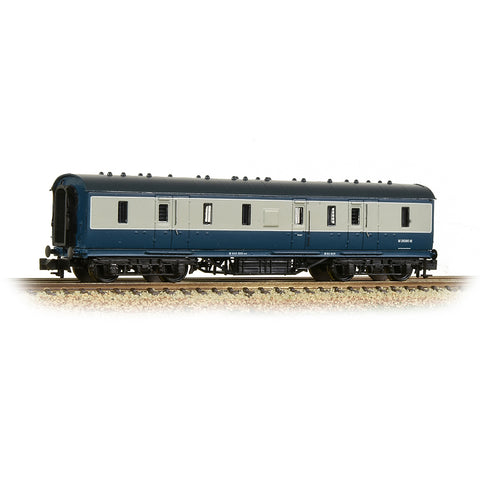 Graham Farish 374-891 N Gauge LMS Stanier 50ft Full Brake Coach BR Blue/Grey