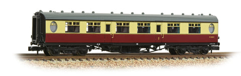 Graham Farish 376-201 N Gauge LNER Thompson First Corridor BR Crimson & Cream