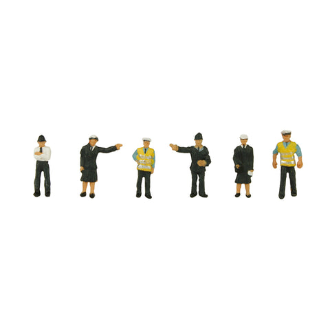 Graham Farish 379-301 N Gauge Police & Security Staff