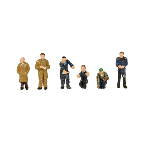 Graham Farish 379-316 N Gauge Factory Workers & Foreman