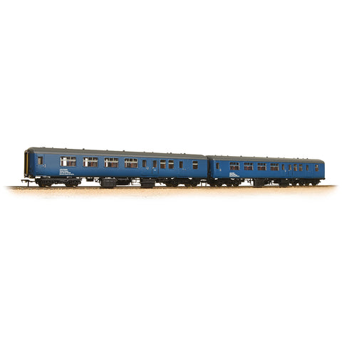 Bachmann 39-002 OO Gauge BR HST Barrier Vehicle 2 Coach Pack