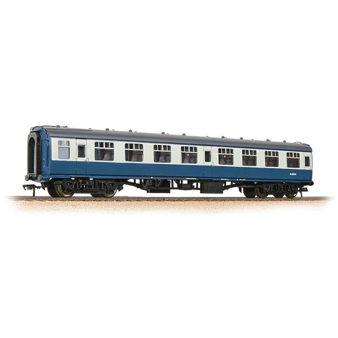 Bachmann 39-025E OO Gauge BR Blue/Grey Mk1 SK Second Corridor Coach