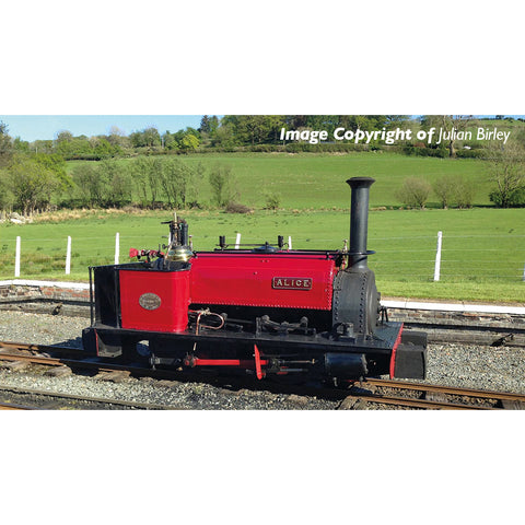 Bachmann 391-050 OO-9 Gauge Quarry Hunslet 0-4-0 Tank 'Alice' Dinorwic Quarry Red