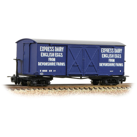 Bachmann 393-029 OO-9 Gauge Covered Goods Wagon Express Dairies