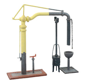 Ratio 413 OO Gauge Water Crane & Fire Devil Kit