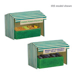 Graham Farish 42-549 N Gauge Market Stalls (2)