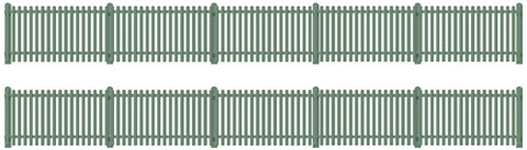 Ratio 431 OO Gauge Station Fencing (Green)