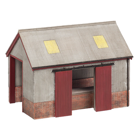 Bachmann 44-0022 OO Gauge Corrugated Goods Shed