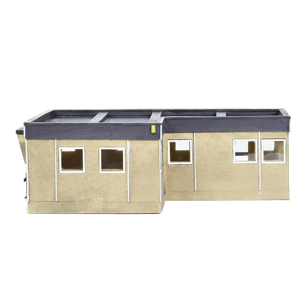BACHMANN SCENECRAFT ​44-0094 OO SCALE  Rendered Prefab Building
