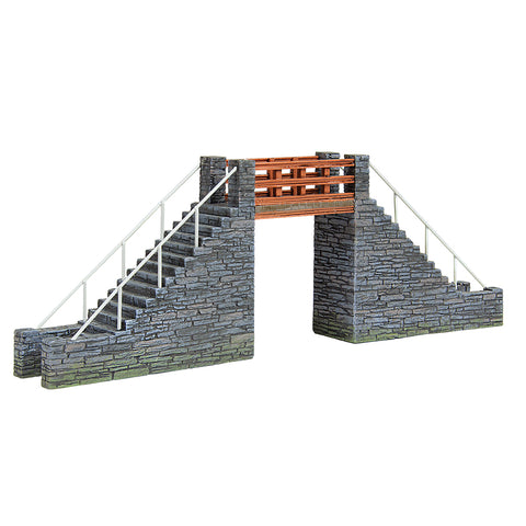 Bachmann 44-0107 OO-9 Gauge Slate Built Footbridge