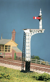 Ratio 486 OO Gauge LNER Lattice Post Signals Kit