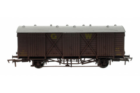 Dapol 4F-014-022 OO Gauge GWR Fruit D Van 2872 Weathered