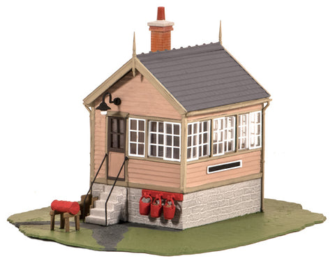 Ratio 503 OO Gauge Platform/Ground Level Signal Box Kit