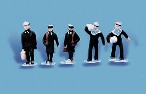 Modelscene 5117 OO Gauge Sailors/Navy Personnel