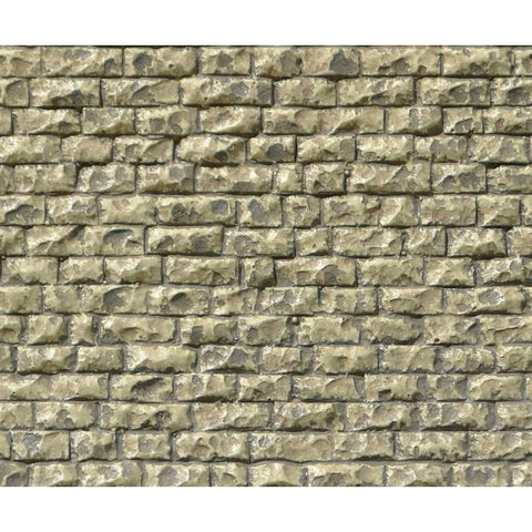 Chooch Enterprises 8252 HO/OO Gauge Flexible Medium Random Stone Wall