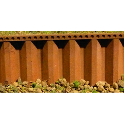 Chooch Enterprises 8516 O/G Gauge Flexible Steel Sea Wall (Large)