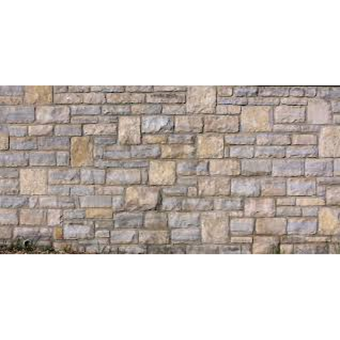 Chooch Enterprises 8524 N Gauge Flexible Small Stone Block Wall