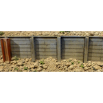 Chooch Enterprises 8608 N Gauge Flexible Small Timber Retaining Wall