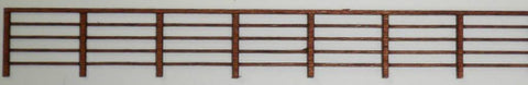 Ancorton 95732 OO Gauge 5 Rail Fencing Kit