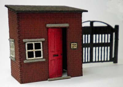 Ancorton 95791 OO Gauge Yard Office with Gates Kit