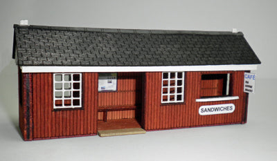 Ancorton 95816 OO Gauge Waiting Room & Cafe Kit