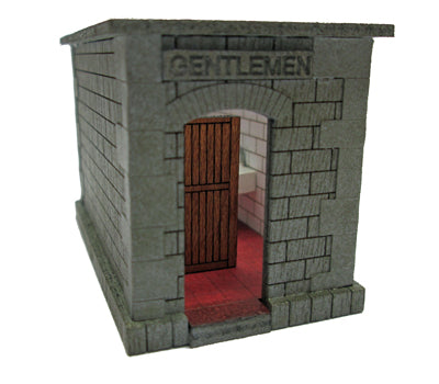 Ancorton 95817 OO Gauge Platform Toilet (Open Roof) Kit