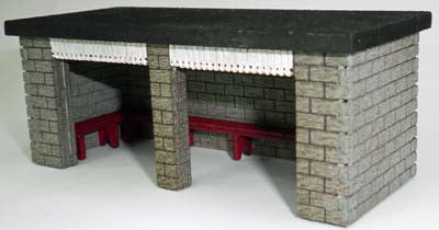 Ancorton 95824 OO Gauge Stone Built Waiting Room Kit
