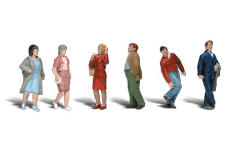 Woodland Scenics A2210 N Gauge People Walking