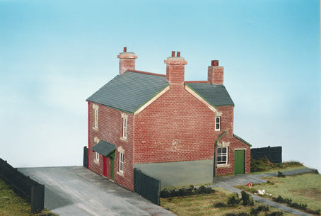 Wills CK11 OO Gauge Semi-Detached Houses Kit