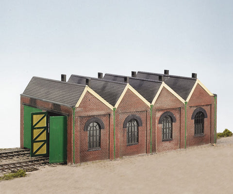 Wills CK12 OO Gauge Two Road Engine Shed Kit