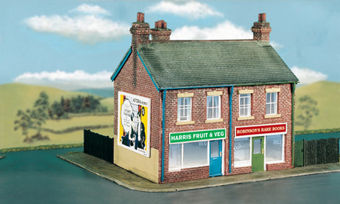 Wills CK18 OO Gauge Two Unit Corner Shop Kit