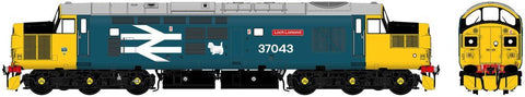 Accurascale 230637043 OO Gauge BR Large Logo Class 37 No 37043 Loch Lomond