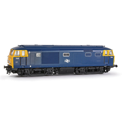 EFE Rail E84003 OO Gauge Class 35 'Hymek' 7016 BR Blue Full Yellow End With Data Panel