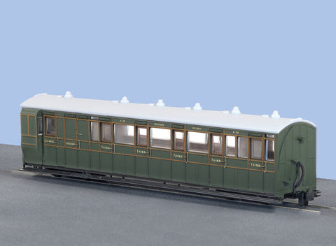Peco GR-421A OO-9 Gauge SR Brake Coach No 4108