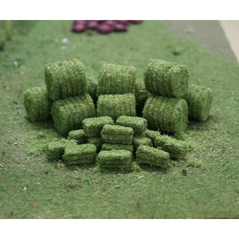 Tasma Products 00377 OO/HO Gauge Hay Bales (10 Round/20 Rectangle)