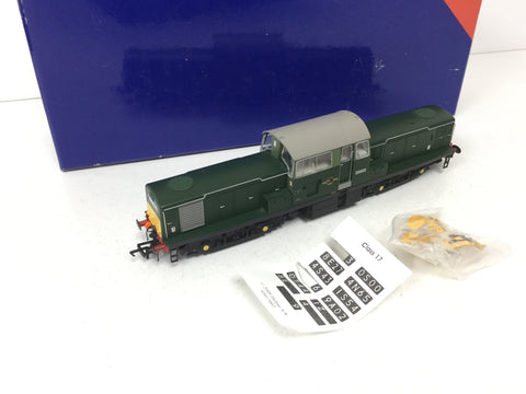 Heljan 17031 OO Gauge BR Green Class 17 D8603 DCC FITTED