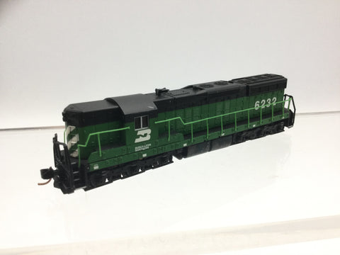 Life-Like 7740 N Gauge Burlington Northern Diesel Loco 6232