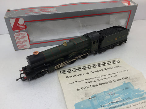 Lima 205056 OO Gauge GWR Green King Class 6012 King Edward VI