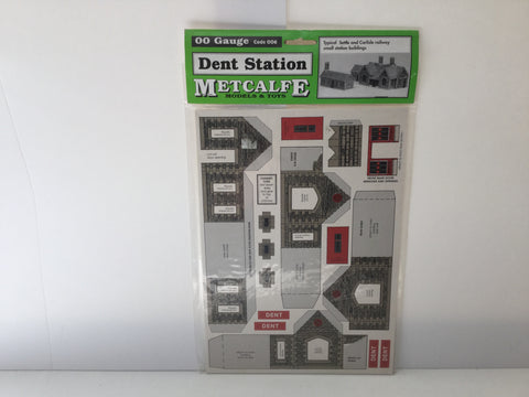 Metcalfe 006 OO Gauge Dent Station Kit