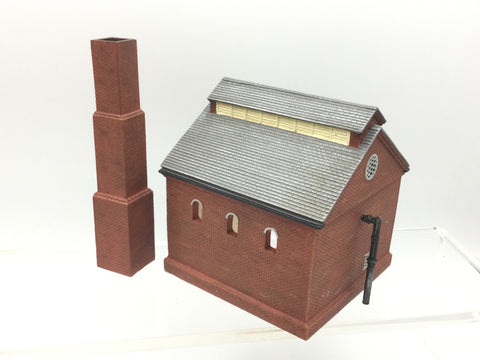 Hornby R8738 OO Gauge Retort House wth Chimney