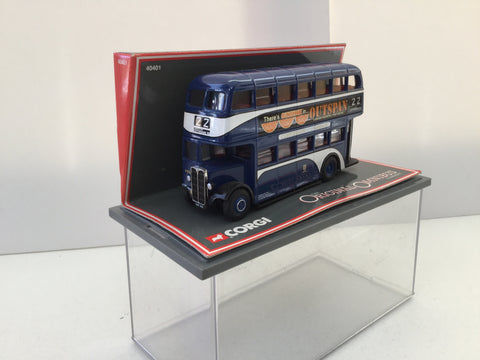 Corgi 40401 1:76 Scale AEC Regent II Bus Kingston Upon Hull