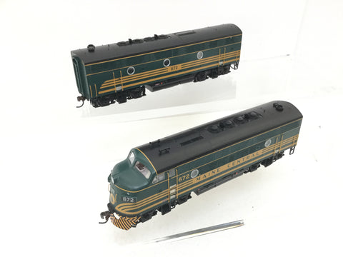 Athearn G2519 HO Gauge F-3A/B Loco Set Maine Central