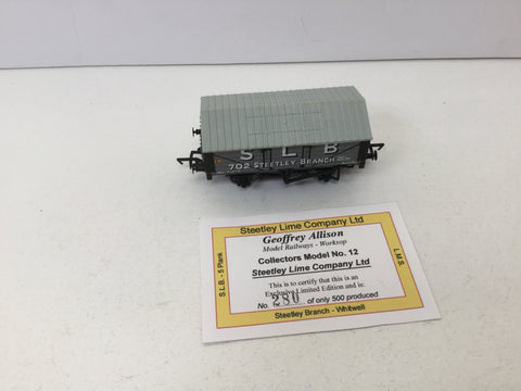 Bachmann/Allinson 37-025Y OO Gauge Lime Wagon SLB