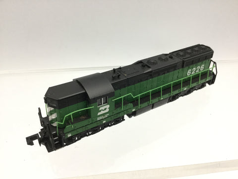 Life-Like 7739 N Gauge EMD SD7 Burlington Northern 6226