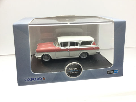 Oxford Diecast 76CFE001 OO Gauge Vauxhall Friary Estate White/Pink