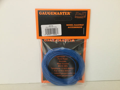 Gaugemaster GM11BL Wire (7x0.2mm) x10m Blue