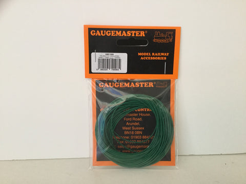 Gaugemaster GM11GN Wire (7x0.2mm) x10m Green