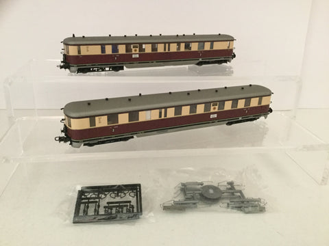 Liliput L112513 HO Gauge DRB VT137 2 Car DMU Set