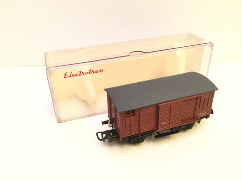 Electrotren 805 HO Gauge RN Goods Wagon Brown (Lot 1)